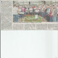 Article DL, concert à la fondation du bocage, Avressieux, mai 2016, presse
